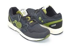 New Reebok X Proper Long Beach  Pump Dual Running Classic Navy/Green Rare Retro