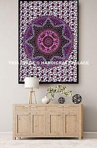 Indian Star Mandala Small Poster Wall Hanging Cotton Tapestry Bohemian Yoga Mat
