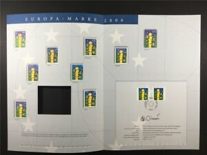 GERMANY ART-EDITION 2000/17 2113/2114 EUROPA CEPT KINDER UNISSUED DRAFTS!!