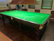 12ft full size Mahogany Thurstons Snooker Table (FREE DELIVERY)