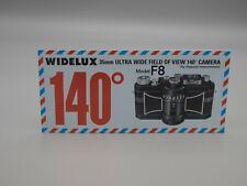 Original Widelux Model F8 Camera Brochure