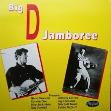 LP - VA. ♫♫ BIG D JAMBOREE ♫♫ GENE VINCENT,JOHNNY CARROLL,RONNIE DAWSON,TEXAS