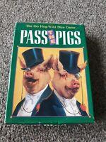 Pass The Pigs 1992 Game Rare Complete Retro Vintage Game Milton Bradley MB