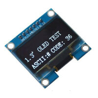 1PCS 1.3 inch White SPI Serial 128x64 OLED LCD Display Screen Module For Ar Y7V5