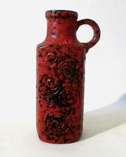 """70s Scheurich Keramik """"Jura"""" glaze 482 Vase 28 cm west german ceramic annees 70"""