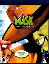NEW BLU-RAY // The Mask // Jim Carrey, Cameron Diaz, Peter Riegert, Peter Greene