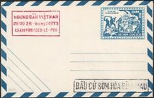 VIETNAM, 1973. Military Letter Sheet I 1 Ceasefire cachets, Mint