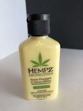 Hempz Pure Herbal Extracts Sweet Pineapple Honey Melon Body Moisturizer 2.25