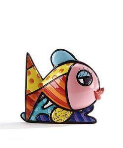 Romero Britto Mini/ Miniature 3D Figurine- Pink Fish