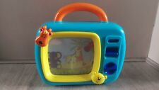 Baby blue Musical TV Sleepy Lullaby with Scroll Image