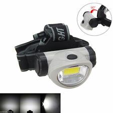 300 Lm COB 3Mode LED Head Headlamp Headlight Lamp Flashlight Torch 3AAA Light