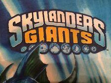 Skylanders Giants Spyro Wham Shell Eruptor Flameslinger Twin Pillowcase Reverse