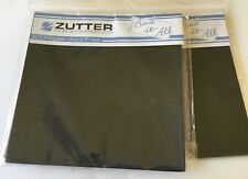 "Zutter Bind-It-All - 20 Precut Black 4"" Sq. pages each - 2 sets  - NEW"