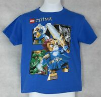 Lego Chima Boys T-Shirt New Blue Officially Licensed