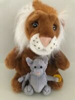 Animated LION/Mouse Stuff Plush SINGING IN THE JUNGLE MOUTH & HEAD MOVES