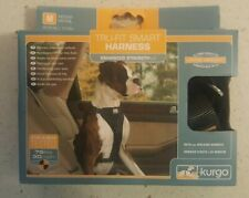 New, Medium, Kurgo Tru-Fit Smart Harness, Enhanced Strength for Car or Walking
