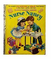 "Little Golden Book:NURSE NANCY, First ""A"" Edition, 1952, Bandages Missing"