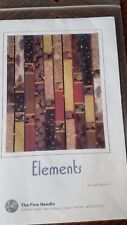 ~Elements~ Quilt Pattern By The Pine Needle 47 x 57