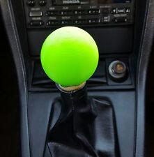 Universal Neon Green 2-inch Round 3D Printed Shift Knob_Honda Toyota Ford Chevy