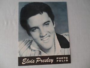ELVIS PRESLEY Original__1957__PHOTO FOLIO__CONCERT PROGRAM__EX/EX+