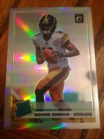 2019 Optic Diontae Johnson Rookie Card Silver Holo SP Pittsburgh Steelers