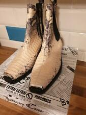 Jeffrey Campbell Poker Snake Boots Size 5 RRP £170, Brand new boxed