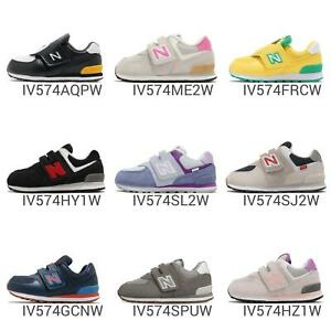 New Balance 574 W Wide Strap TD Toddler Infant Baby Cute Shoes Sneakers Pick 1