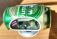 Tuk Tuk Car Thailand handmade Wire Bend Taxi Car Model Gift Beer Cans Mini Taxi