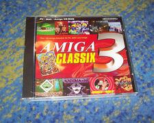 Amiga Classix Gold 3 III PC 100 Amiga jeux pour le PC Neuw