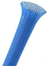 Techflex Neon Blue 2.5'' Expandable Sleeving Scuff Guard