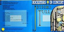 "JETHRO TULL   ""ROCKSTARS IN CONCERT"" rare cd live mint"