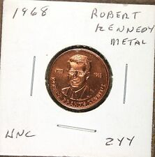1968 Robert Francis Kennedy Bronze Medal, Uncirculated, m112