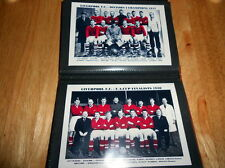 Liverpool Autographed Football Prints