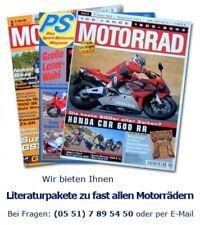Für den Fan! Honda VFR 109PS Literaturpaket