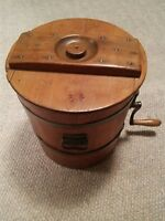 005 VTG C&D #8 Philadelphia Butter Churn Keystone Wood Antique