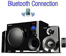 Boytone BT-210FD Bluetooth 2.1 Stereo Speaker System w/ Subwoofer SD & USB Slot