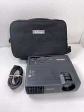 InFocus IN1116 DLP Portable Projector - 5 Lamp Hours! No Remote.