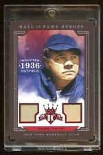 BABE RUTH 2015 DIAMOND KING GAME JERSEY / BAT #D /10 HALL OF FAME HEROES YANKEES