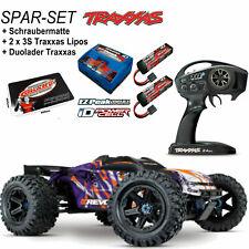 Traxxas  E-Revo 2.0 4x4 VXL Purple RTR 1-8  SPARSET + 2x 5000 Lipo 3S + Duolader