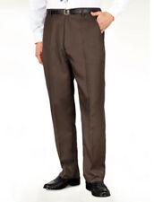 Pantaloni da uomo marrone in cotone taglia 50