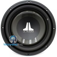 "JL AUDIO 10W1V3-4 10"" CAR SINGLE 4 OHM 600W CLEAN BASS CAR SUBWOOFER SPEAKER NEW"
