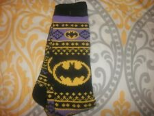 NEW BATMAN DC Comics Sweater Long Tube Casual Boot Socks Winter Thermal-OSFM B24