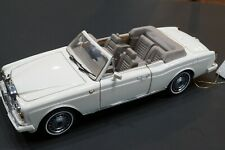 1992 Rolls-Royce Corniche Iv Rare & Retired,1/24 scale by Franklin Mint