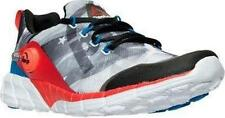 NEW Boy's Reebok ZPump Fusion 2.0 Gray Red White & Blue Stars & Stripes Size 7