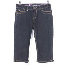 EDC BY ESPRIT Caprihose Five Kurze Hose Bermuda Denim Jeans Shorts Blau Gr. W26