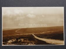Yorkshire: The Moorland Road Nr Whitby c1923 RP Postcard by Judges 7888