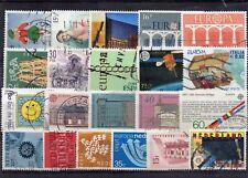 Europa CEPT  sellos usados lote 01
