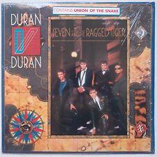 DURAN DURAN: Seven and Ragged Tire ORIG SHRINK w/ STICKER + INSERT lp 1983