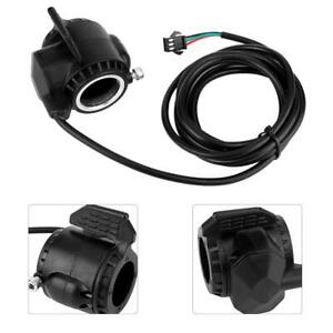 3 Wires Thumb Twist Throttle Speed Control Handle for Electric Bike Scooter
