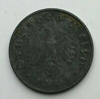 Dated : 1943 A - Germany - 10 Pfennig - German Coin - Wilhelm II